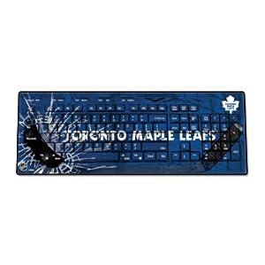 NHL Toronto Maple Leafs Keyscaper Wireless USB Keyboard