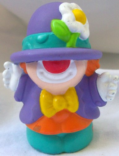Picture of Mattel Fisher Price Little People Circus Clown Joker Replacement Figure Doll Toy (B002MWUAFY) (Mattel Action Figures)