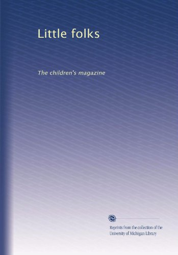 Little Folks: The Children'S Magazine front-379359
