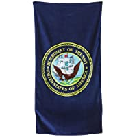 United States Of America Military USN Beach Towel - Navy Logo from ACE WORLD