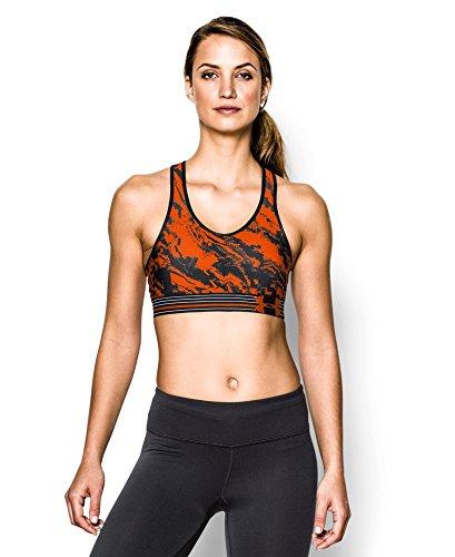 Under Armour Women's Tough Mudder HeatGear® Alpha Bra Medium Black