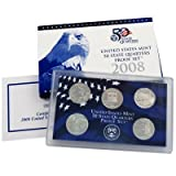Collectors Alliance Coins 15315 2008 Us Proof Set 5 Pc Quarters