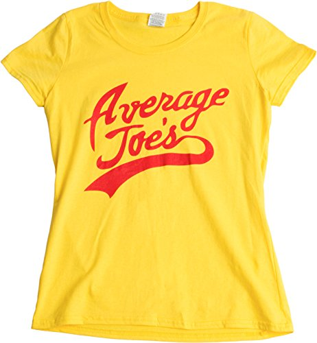 Average Joes Funny Dodgeball Team Sports Jersey Ladies T Shirt