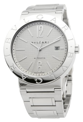 Bvlgari Men's BVLBB42WSSDAUTO Diagono Silver Dial Watch