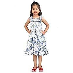 Hawai Modish Printed Frock For Girl