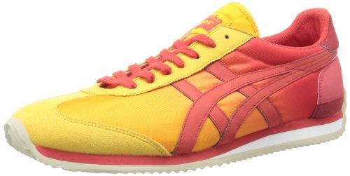 [オニツカタイガー]Onitsuka Tiger Men California 78 (yellow / red)男性カリフォルニア78(黄/赤)US Size: 12 (29.5CM)
