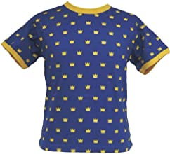 NESJE T-shirt with many Crowns Size 6 Years 87312