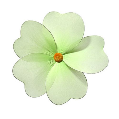 Green Hanging Daisy Flower Decorations Large 8&#8243; &#8211; daisies flowers hanging nylon nursery bedroom girls room ceiling wall decor, wedding birthday party baby bridal shower