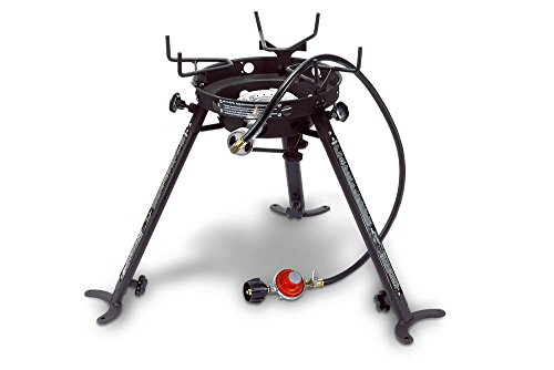 Eastman Outdoors Portable Kahuna Burner with XL Pot and Wok Brackets with Adjustable and Removable Legs (Wok Burners compare prices)