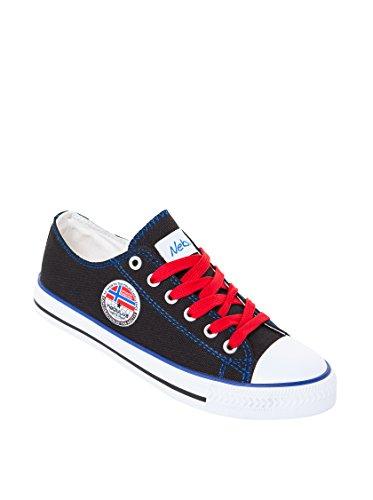 NEBULUS SNEAKER TALBAO, Damen, Vintage, Schuhe, schwarz, Größe 38 (Q1430)