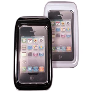 Keystone ECO W4PS-BLK-001 MarineCase IP58 Certified Slimline Waterproof Case for iPhone 4S/4 - 1 Pack - Retail Packaging - Black