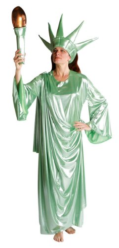 Adult Lady Liberty Girl Costume