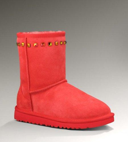UGG Australia Kids Classic Stud Boot Hibiscus Size 4