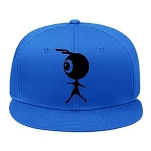 Amazon.com: Fashion Alien_silhouette Blue Snapback Cap Hat Male/female