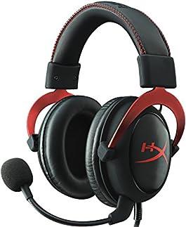 キングストン HyperX Cloud II 7.1バーチャルサラウンドサウンド対応 USBオーディオコントロールボックス付属 プロゲーミングヘッドセット国内正規代理店品 2年保証 レッド/ブラック KHX-HSCP-RD