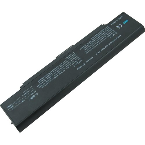 Coolgo® New Laptop Battery For Sony Vaio Vgn-Ar21 Fe21 Fe28 Fe31 Fe33 - 18 Months Warranty [Li-Ion 6-Cell 5200Mah]