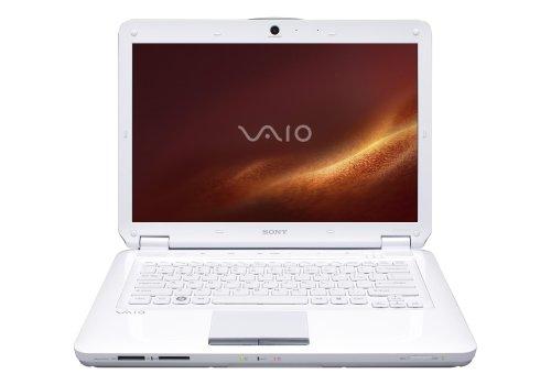 Sony VAIO VGN-CS215J/W 14.1-Inch Laptop (2.0 GHz Intel Core 2 Duo T6400 Processor, 4 GB RAM, 250 GB Hard Drive, Vista Premium) White