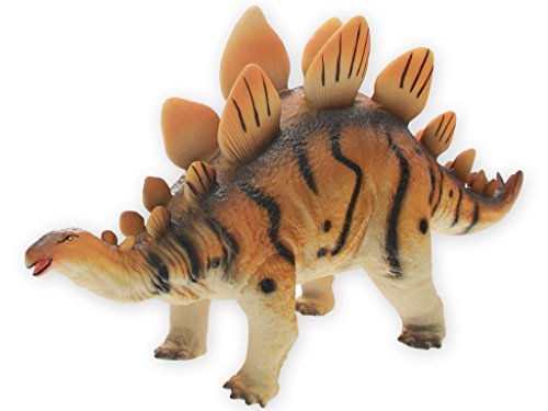 Teorema 73031 - Stegosauro Soffice, 50 cm, Marrone