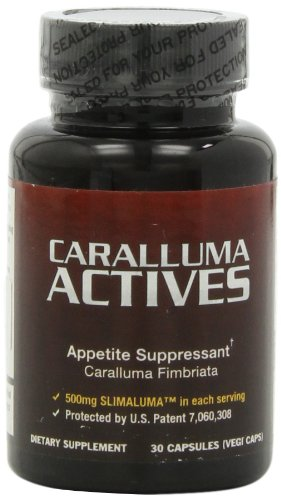 Caralluma Actives - Natural Appetite Suppressant for Weight Loss and Losing Weight ~ 2 Bottles