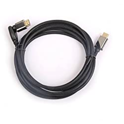 Black Web Swivel Connect 4k HDMI Cable 12 foot