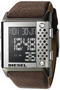 Diesel DZ7123, Digital Dial, Brown Strap, Date Function