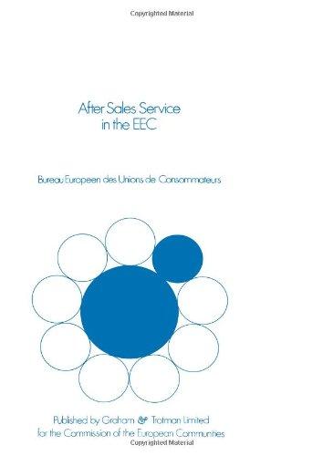 After Sales Service in der Europäischen Gemeinschaft