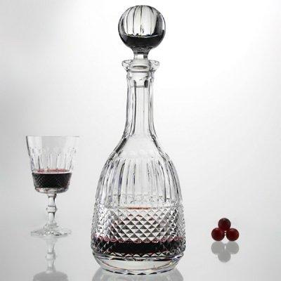 Kinvarra Hand Cut Lead Crystal Wine Decanter