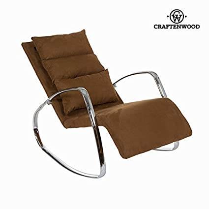 Craften Wood - Brown rocking chair star by Craften Wood - bb_S0102434