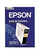 Epson Stylus® Color 3000, Pro 5000 Black Ink Cartridge 3,800 Yield, Part Number S020118