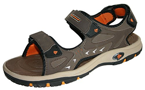 mens-dunlop-sports-beach-trekking-walking-hiking-velcro-sandals-sizes-7-12-8-uk-brown-orange