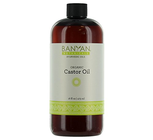 Banyan Botanicals Castor Oil, Certified Organic, 16 oz - Pure, Expeller Pressed and Filtered (Armadillo Hair Brush compare prices)