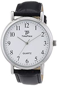 TP Time Piece Herren-Armbanduhr XL Classic Analog Quarz Leder TPGA-32336-13L