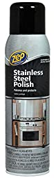 Zep Commercial Stainless Steel Polish, 14Oz., Chrome/Black (ZUSSTL14)