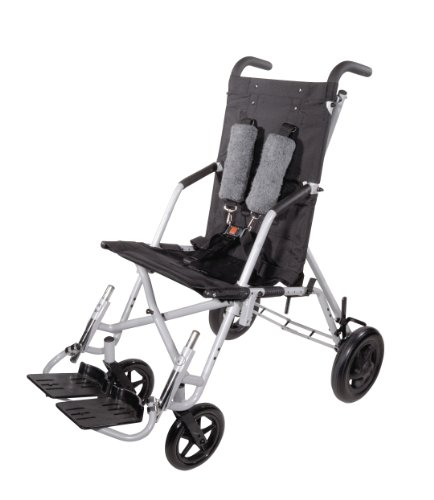 Wenzelite Trotter Mobility Rehab Stroller, Black, 14 inch wide