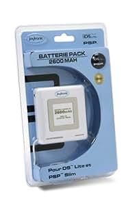 Pack batterie pour DS Lite et PSP Slim