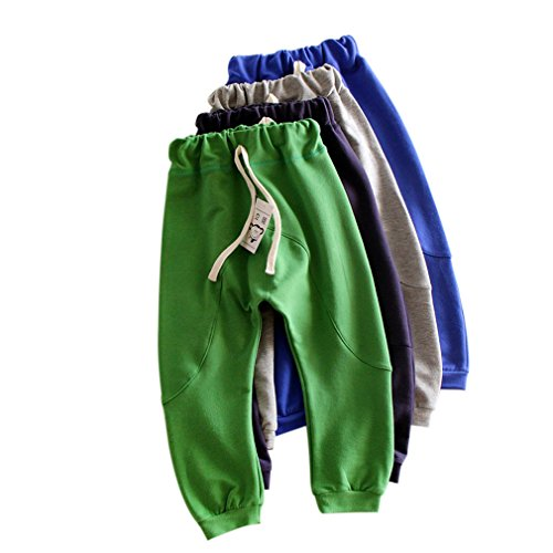Kubee Baby 2-7T Kid Harem Pants Children Infant Sports Trousers Hiphop Clothing