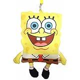 スポンジボブ ヒモ付 ポーチ ショルダーバッグ 子供用?大人用 レディース ポシェット 小物入れ SpongeBob グッズ 雑貨 プレゼント ギフト