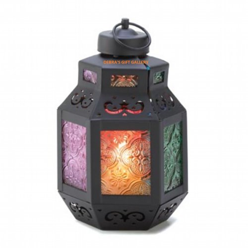 10 RAINBOW MOROCCAN DELIGHT CANDLE LANTERN WEDDING CENTERPIECES