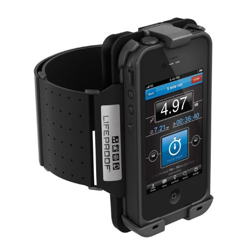 LifeProof Armband for iPhone 4/4S - 1 Pack - Retail Packaging - Black