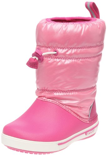 Crocs Toddler Crocband Iridescent Gust Fuchsia/Pink Lemonade Mules And Clogs Sandal 12772-69P-113 7 Child UK
