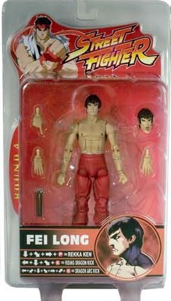 Picture of SOTA Street Fighter Fei Long Sota Action Figure -Red Pants (B000FRE09A) (SOTA Action Figures)