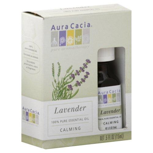 AURA CACIA ESS OIL,LAVENDER,BOX .5 OZ 3-CS by Aura Cacia