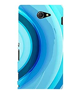 Ebby Premium Printed Mobile Back Case Cover With Full protection For Sony Xperia M2 Dual (Designer Case)