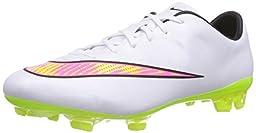 nike mercurial veloce II FG mens football boots 651618 soccer cleats (uk 8 us 9 eu 42.5, white volt hyper pink black 170)
