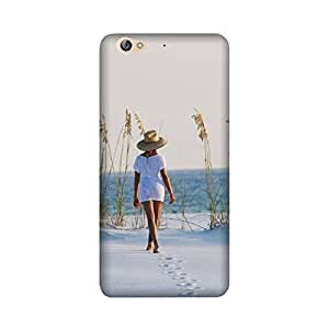 theStyleO Gionee S6 Designer Printed Case & Covers (Gionee S6 Back Cover) - Sexy Girl Sea Alone