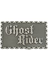 Marvel Comics Ghost Rider Chain Link Antique Belt Buckle 6002