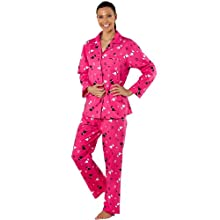 Ladies Scotty Dog Revere Collar Aop Pajamas Jersey Pyjamas Hooded Bathrobes Sleepwear.