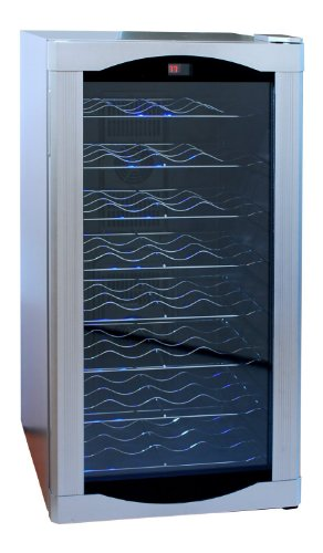 Firebird 32 Btl Electric Wine Cooler Cellar Chiller Single Zone Fb-75-Ec44Ea