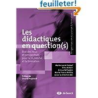 Les didactiques en questions