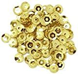 Cup Sequins 5mm - Gold P&P included in Price